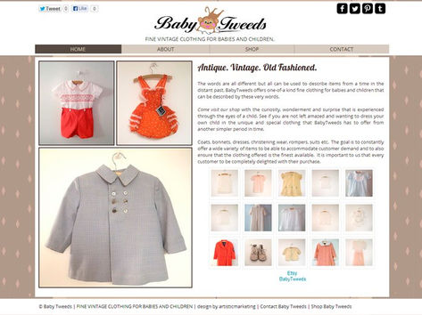 Baby Tweeds Web Design