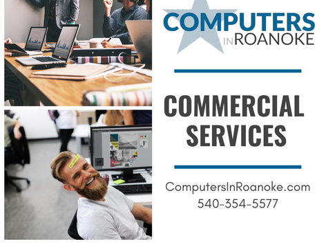 Computers in Roanoke Social Media Ad Design