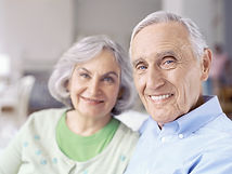 Older Couple Smiling | Angel Heart Home Care | The Best Care for Your Loved Ones