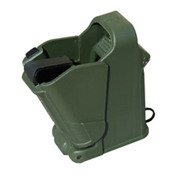 Maglula UpLula Magazine Loader/Unloader,  Fits 9mm-45 ACP, Dark Green