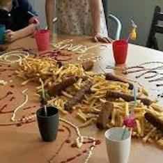 Friet tafel