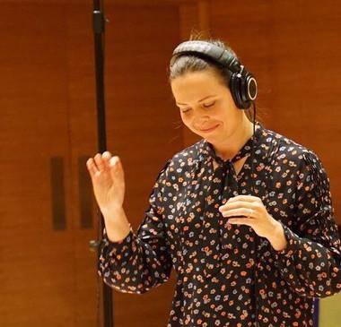 Conducting session at SFCM