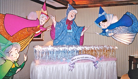 princess party backdrops