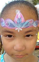 face painting princess