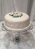 affordable wedding cake