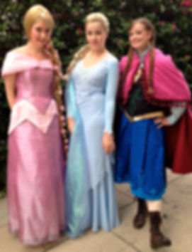 hire princess characters