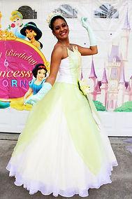 princess party characters tiana