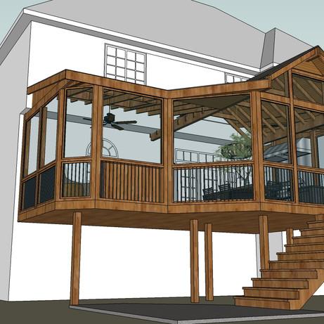 Schillinger Screen Porch Addition