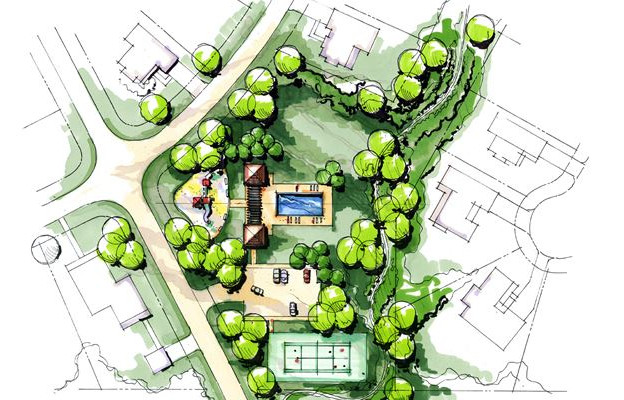 site planning & outdoor living