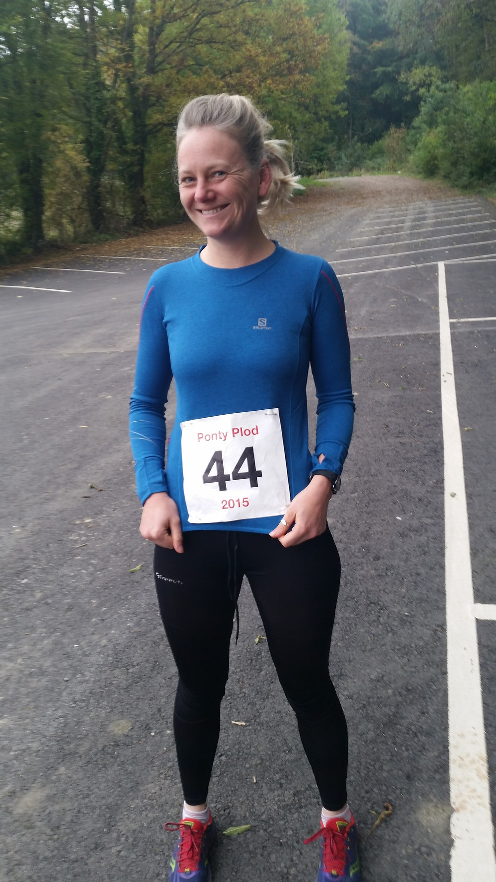 Me with running mojo intact!