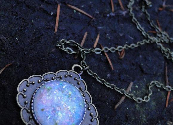 ☽ Blue Faux Opal Set ☾