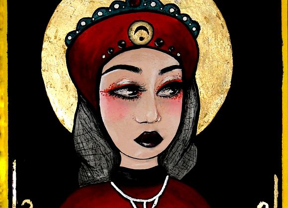 The High Priestess Original Art Print