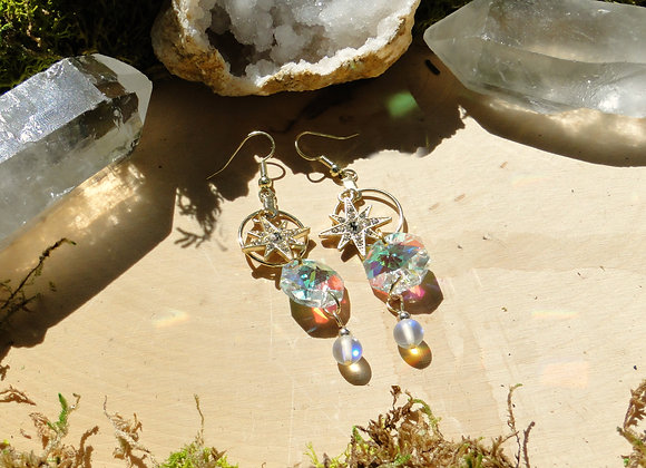 Solar Starlight Sun Catcher Earrings