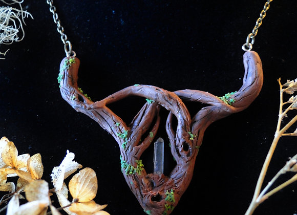 Forest Celtic Double Chain Necklace