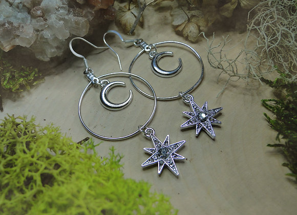 ✴ Celestial Dangle Earrings ✴