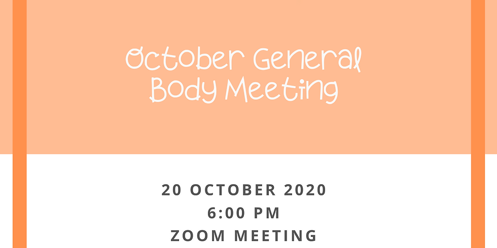 General Body Meeting - Sponsored By Discover
