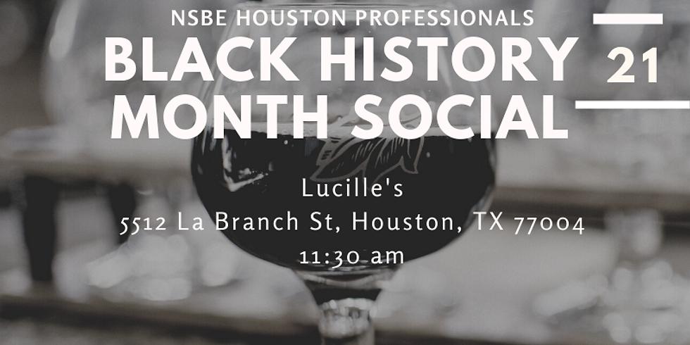 Black History Month Social