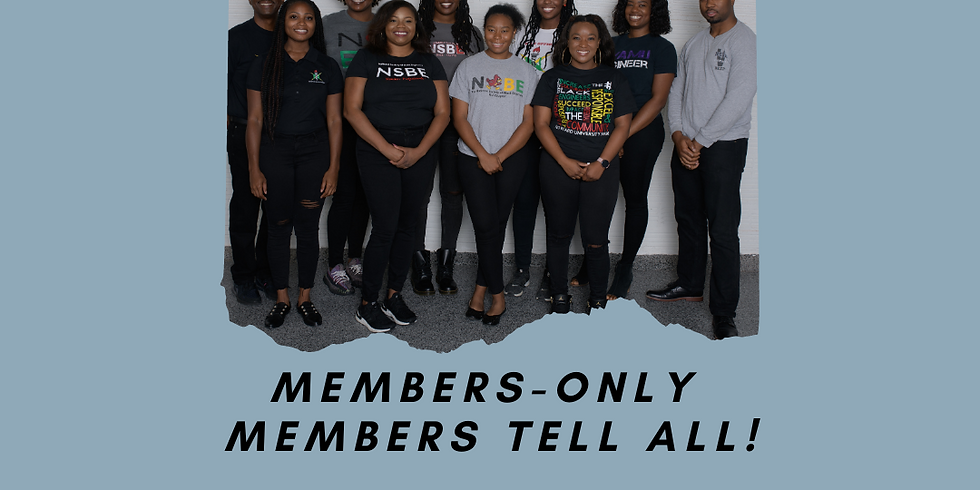 Members Only - Members Tell All