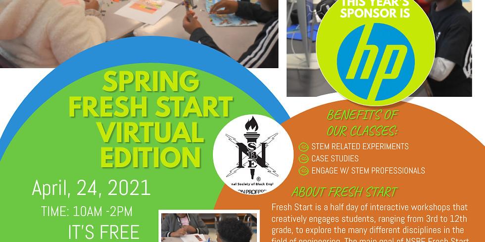 Spring Virtual Fresh Start: Sponsored by HP