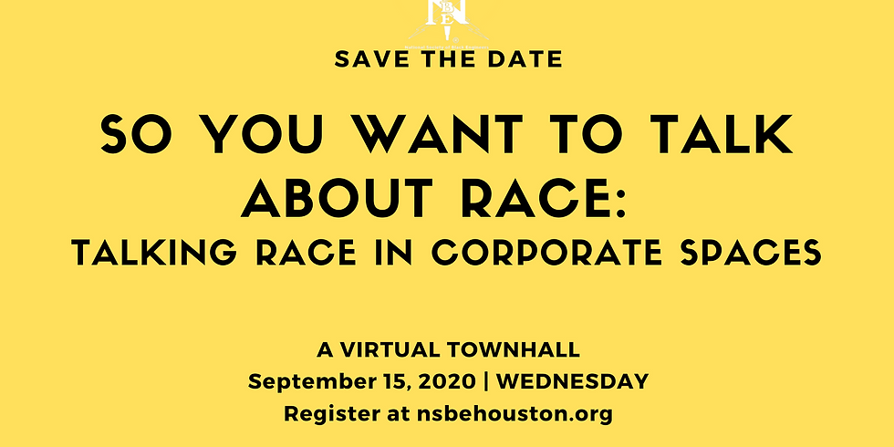 So You Want to Talk About Race: Talking Race in Corporate Spaces