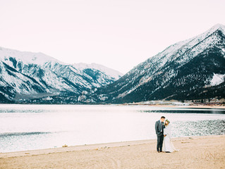 Beautiful elopement in Leadville, Colorado
