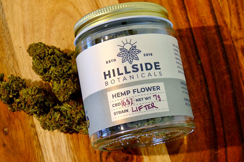 Organic Lifter Hemp Flower - Hand Trimmed