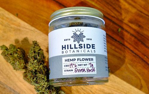 Organic Suver Haze Hemp Flower - Hand Trimmed