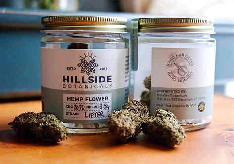 Organic Lifter Hemp Flower - Hand Trimmed
