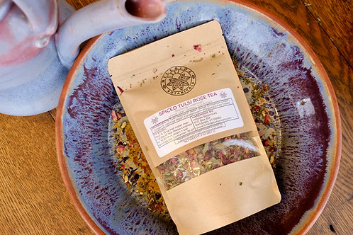 Spiced Tulsi Rose Tea - 2 oz