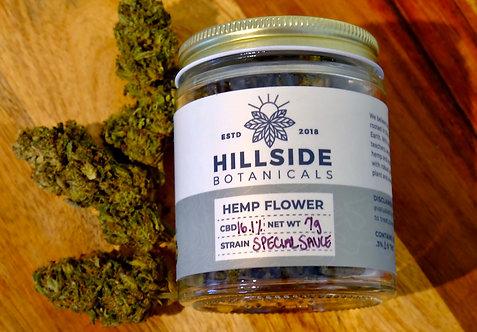 Organic Special Sauce Hemp Flower - Hand Trimmed