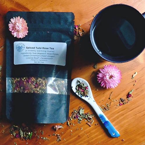 WS- Spiced Tulsi Rose Tea - 2 oz