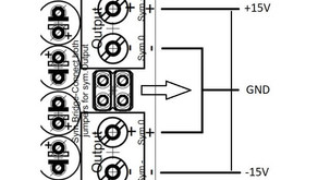 How to achieve positive and negative voltage with a HPULN?