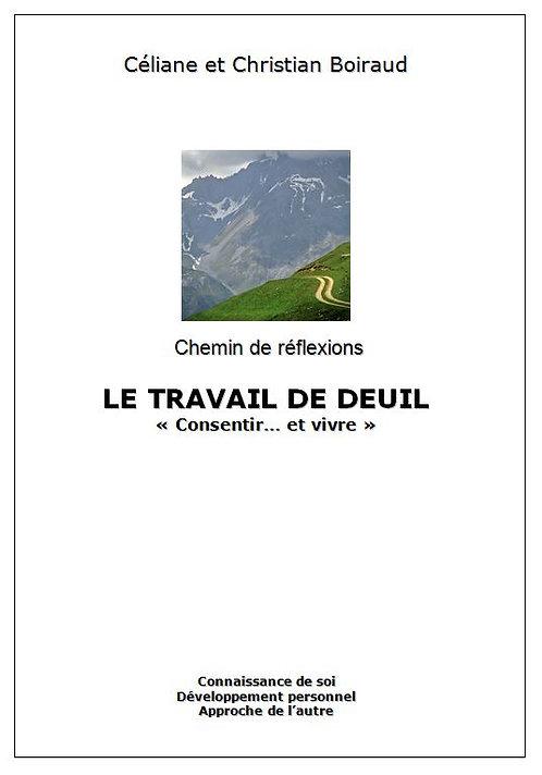 """Brochure PDF """"Le travail de deuil, consentir et vivre"""""""