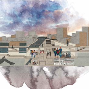 [건축설계(9)] 양채원 | Culture Platform for City Nomads