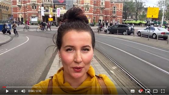 Vlogger Nederlands Theater Festival