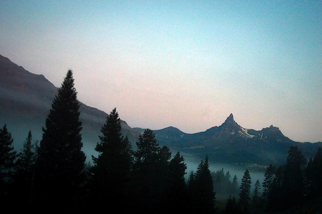 Heading Toward the Beartooth Mountains.j
