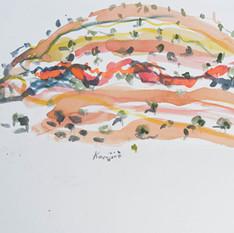 Dales Hills Afternoon Sketch