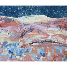 Those Hills (Triptych)