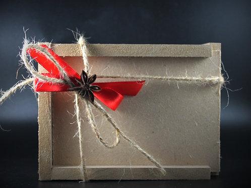 Scatola regalo composte legno