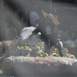 Woman at the Market.
