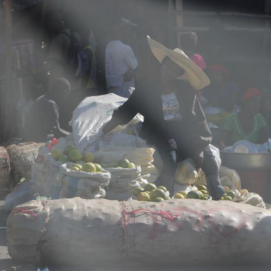 Woman at the Market.