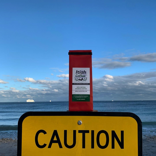 Caution, RED HOT Haitian Coffee!