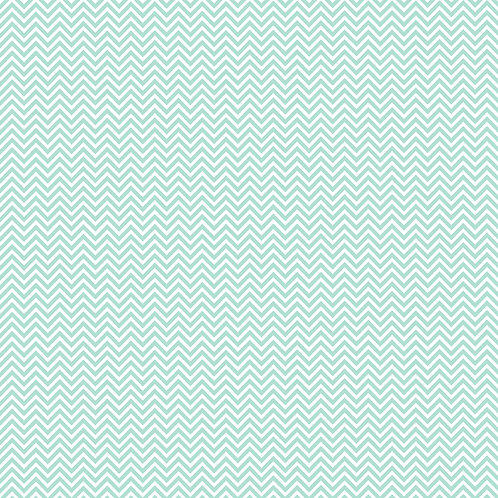 CHEVRON PEQUENO | Azul Céu | A partir de