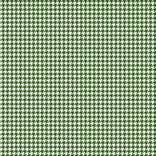 PIED-DE-POULE | Verde Bandeira | A partir de