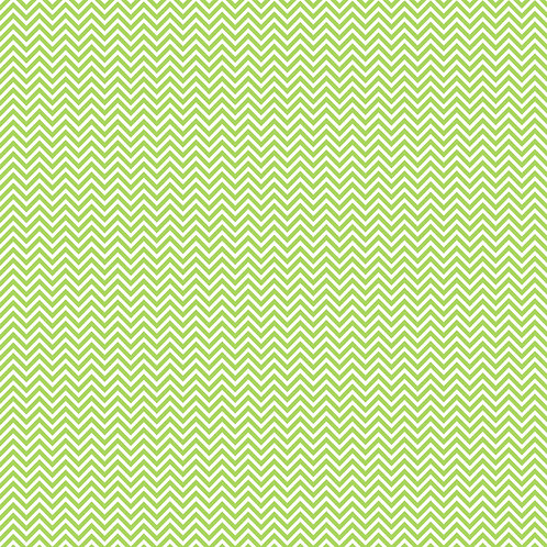 CHEVRON PEQUENO | Verde Alface | A partir de
