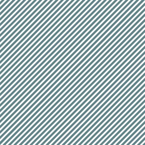 RISCAS DIAGONAIS | Azul Seco | A partir de