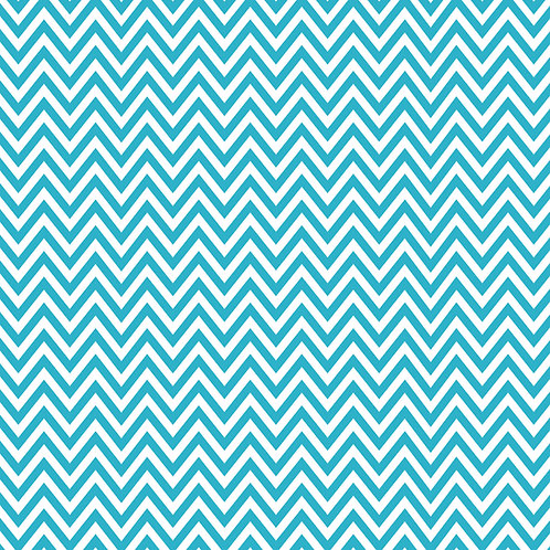 CHEVRON MÉDIO | Azul Tiffany | A partir de