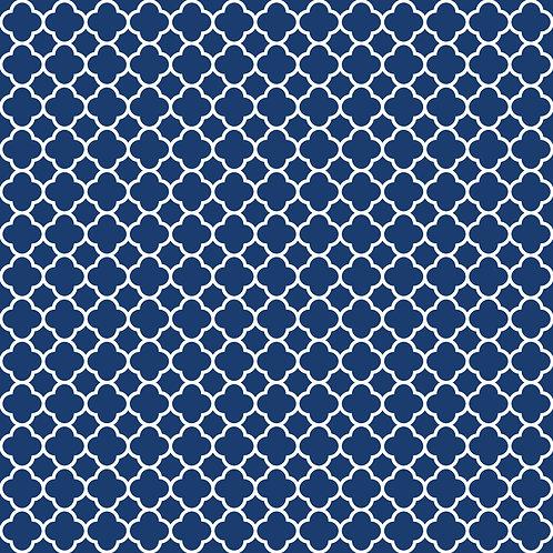QUATREFOIL | Azul Marinho | A partir de