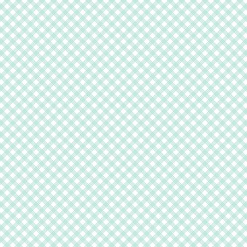 GINGHAM | Azul Céu | A partir de