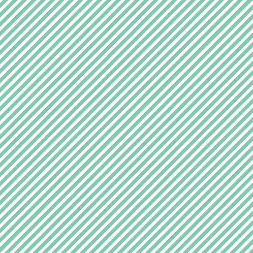 RISCAS DIAGONAIS | Azul Água | A partir de